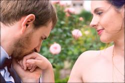 Anne-Sophie et Marc Baise-main au Thabor