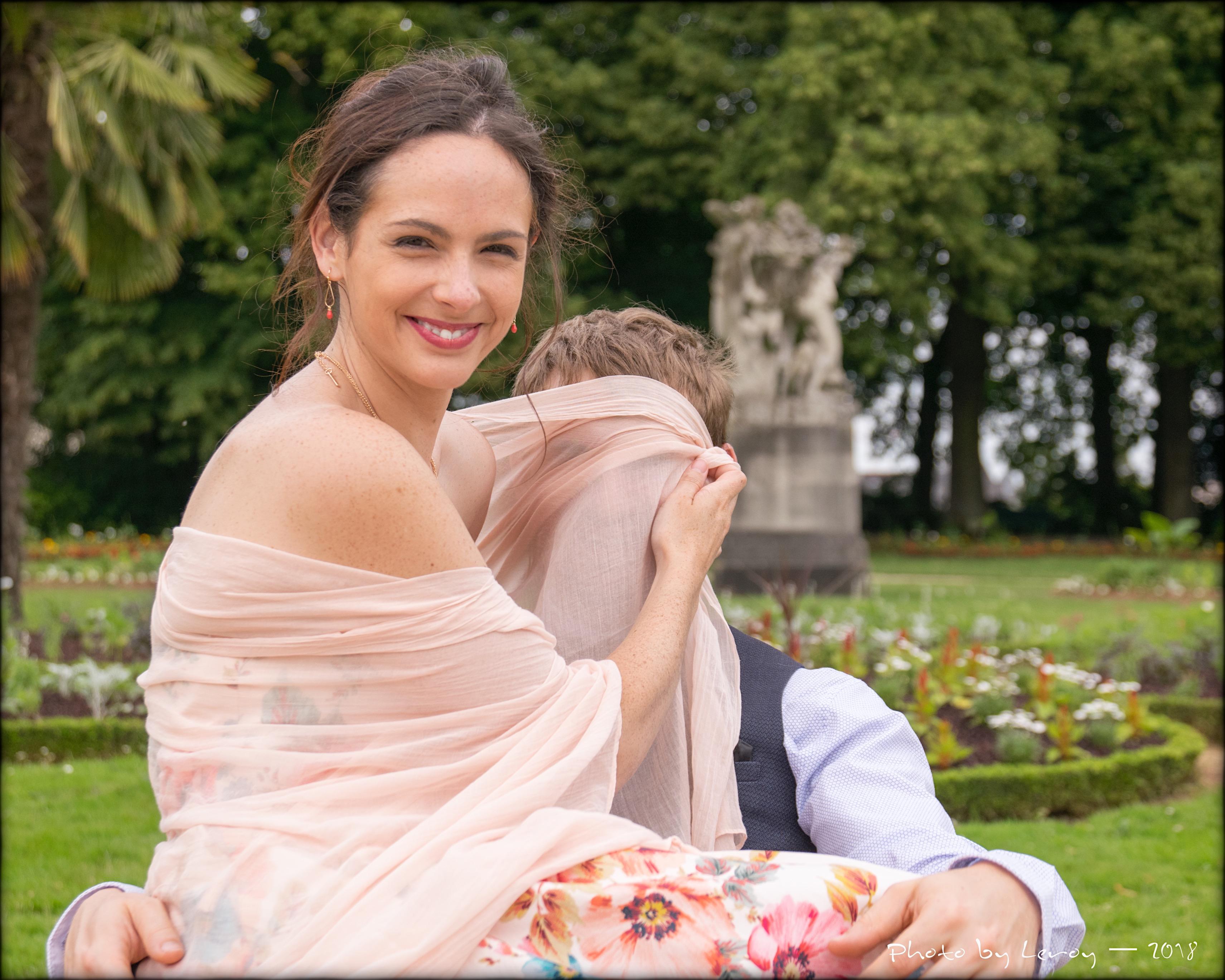 Anne-Sophie et Marc jettent un voile Tha
