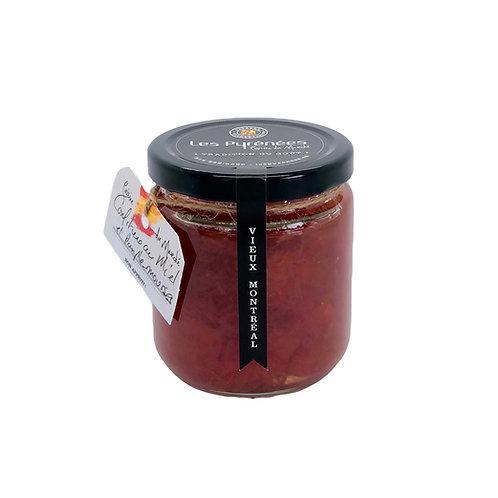 Confiture de miel et pamplemousse 250 ml