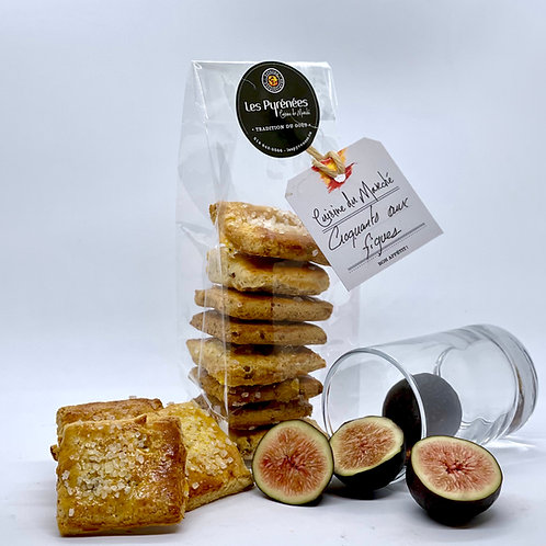 Biscuits croquants aux figues