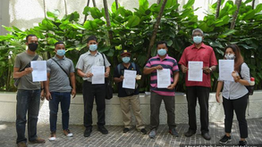 Pos Lanai Orang Asli villagers protest rare earth mining project