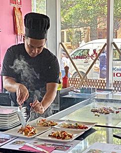 Asami Teppanyaki Chef Dustin Surfers Paradise Gold Coast