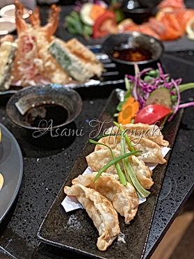Asami Teppanyaki Pork Gyoza