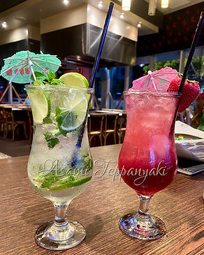 Asami Teppanyaki Q1 Classic Cocktails