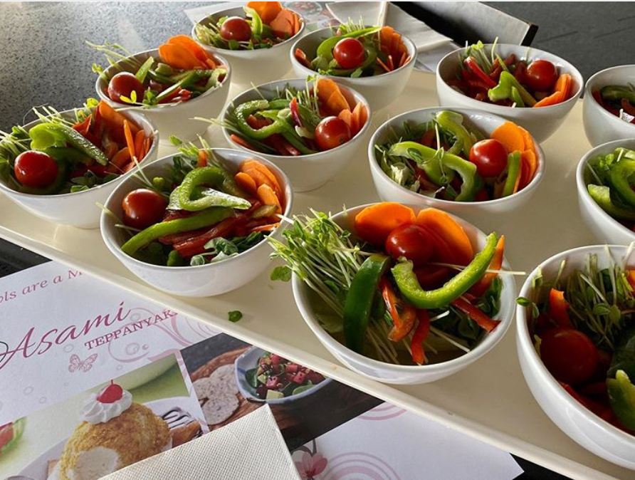 Asami Teppanyaki Salad