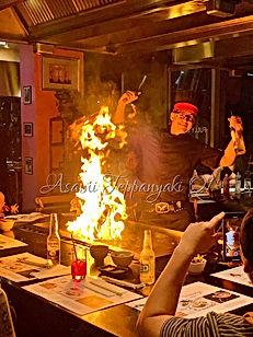 Asami Teppanyaki Chef Lukey