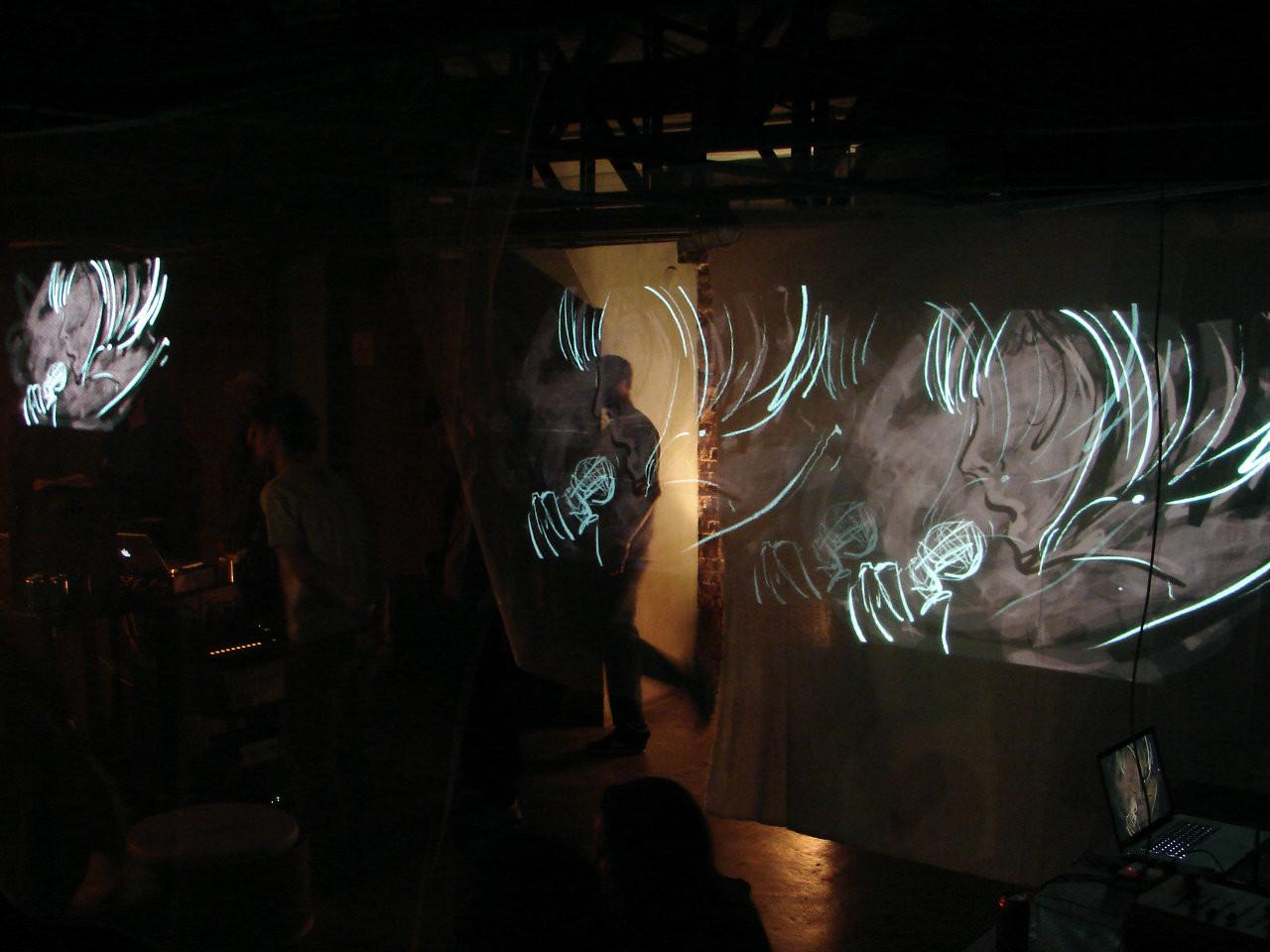 Digital Live Painting Improvisado #39 - Casa das Caldeiras 2010