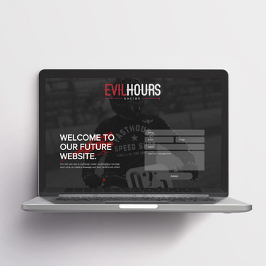 Evil Hours Brand & Landing Page