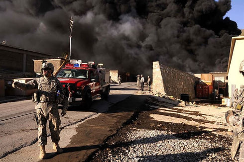 Soldiers in Afghanistan War