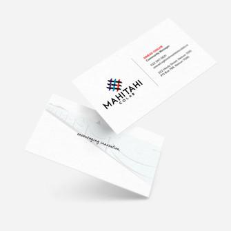 Mahitahi Colab Business Cards