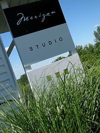 Merizon Studio Sign