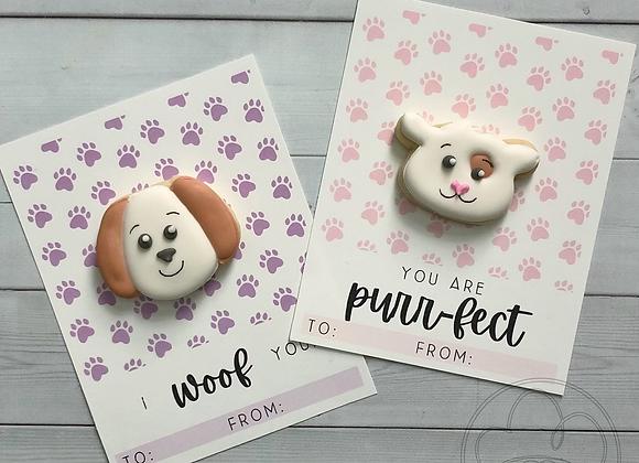 V-Day Pet Cards