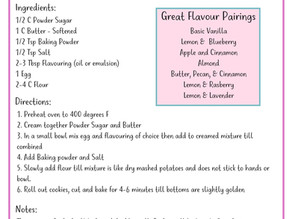 L&B's Basic Sugar Cookie Recipe