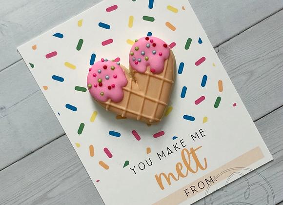 V-Day Ice Cream Cards