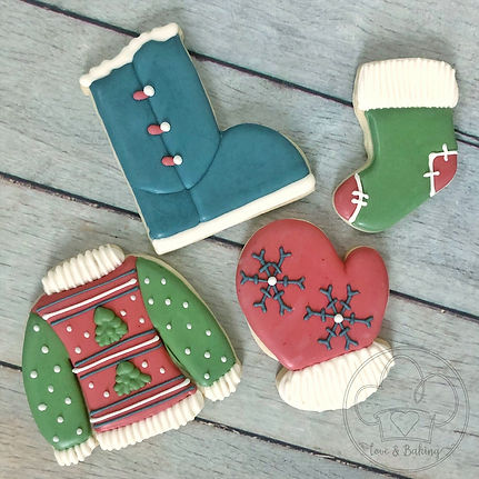 Ugly Sweater Cookie Decorating Class