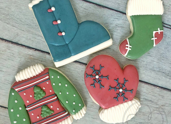 Ugly Sweater Cookie Class