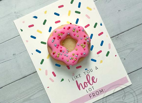 V-Day Donut Cards