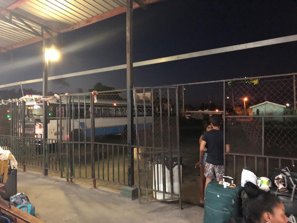 ADO gate, Belize City