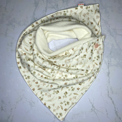 Foulard polaire - Romantic dried flowers