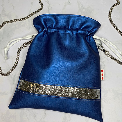 Pochette - Blue & Silver