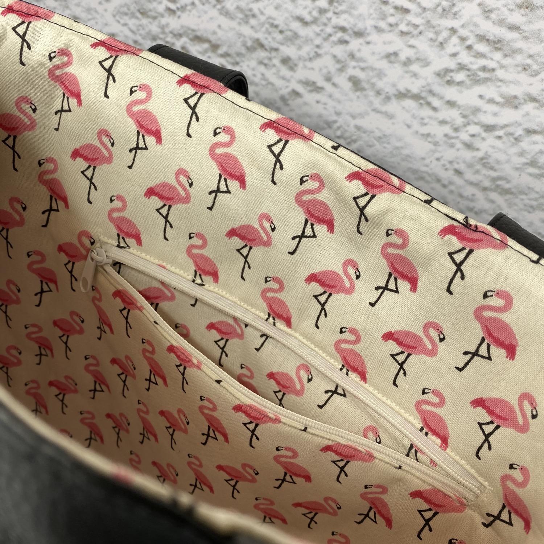Thumbnail: Cabas - Flamingo