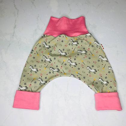 Sarouel bébé - Pink unicorn