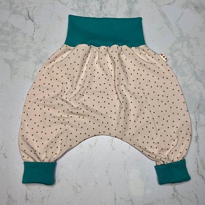 Sarouel pour bébé - Jersey Pink & Gold