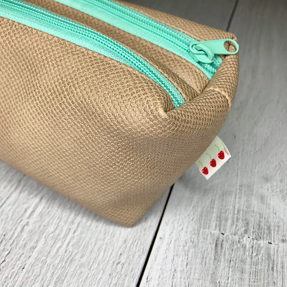 Trousse Mint & Cream