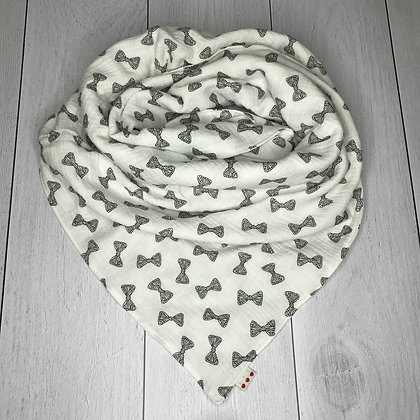 Foulard Petits noeuds - Blanc