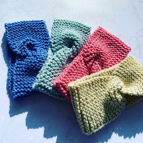 Bandeaux en tricot