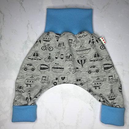 """Sarouel bébé - """"Voyager"""" Grey & Blue"""