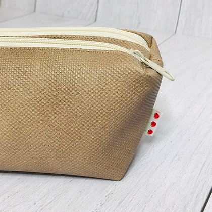 Double trousse S - Beige World