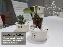 a cup of cofffee into a home decoration.