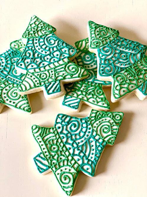 Pine Tree Cookies