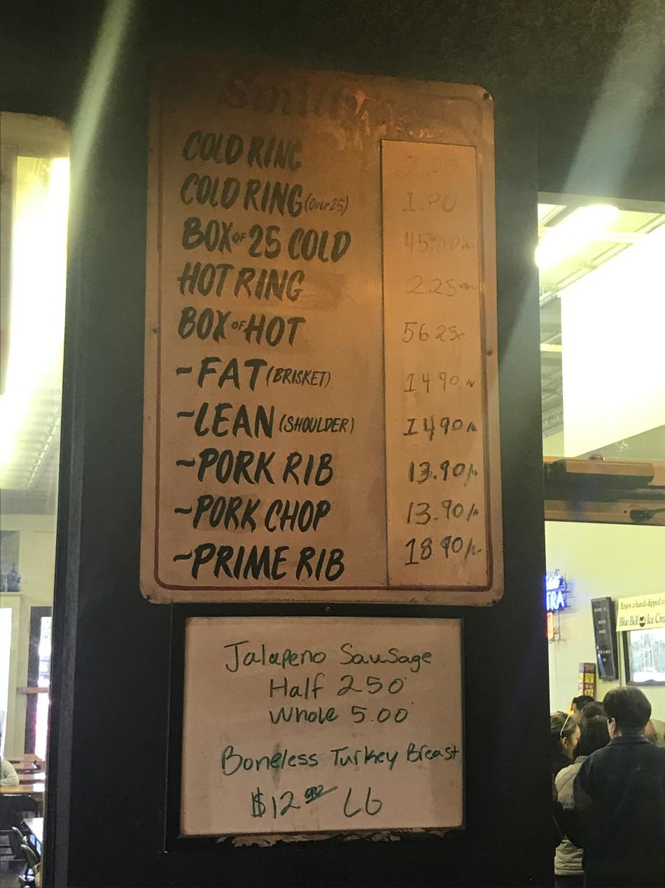 Best Bar B Que In Town! Smitty's Versus Black's