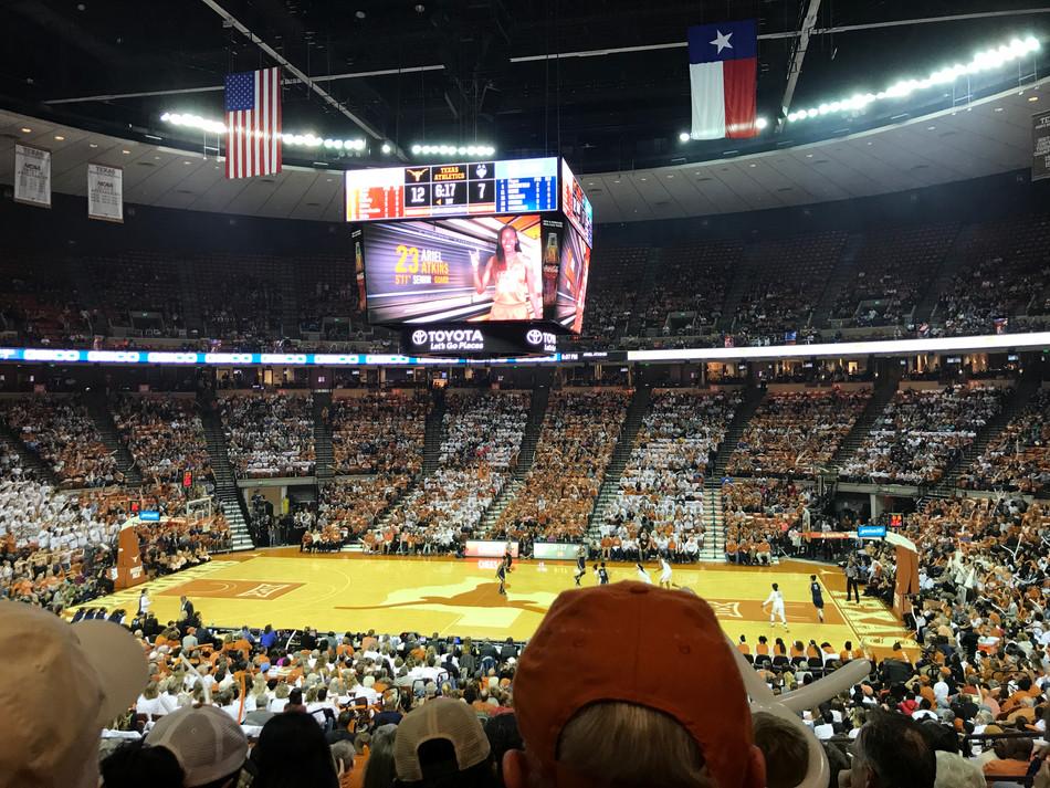 UConn Versus University of Texas -- Women's Basketball