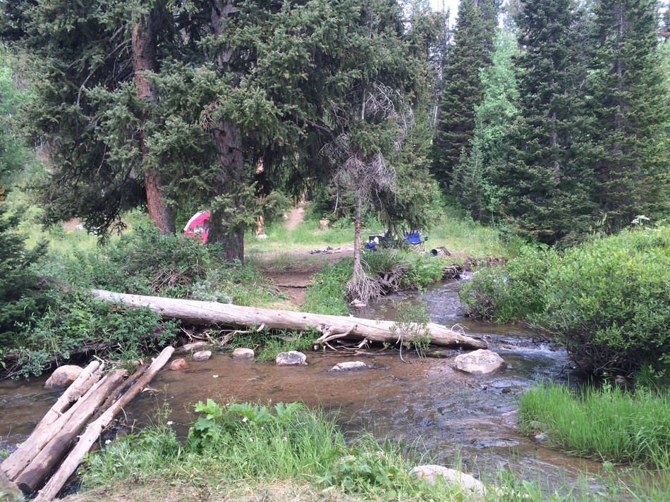 BEAVER MOUNTAIN to SINK HOLLOW tent camp
