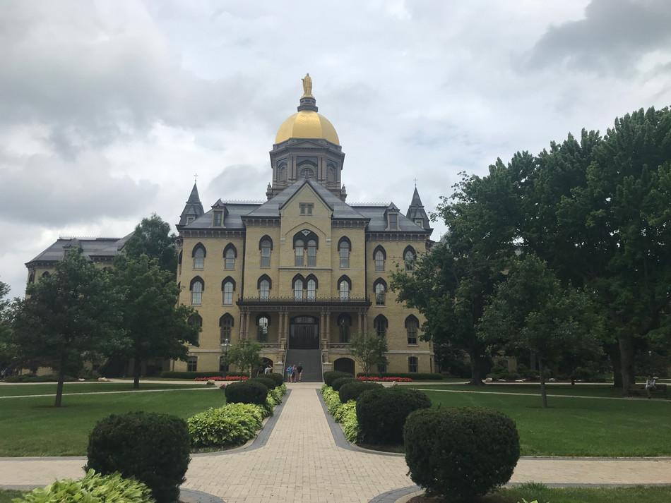 Beautiful University of Notre Dame