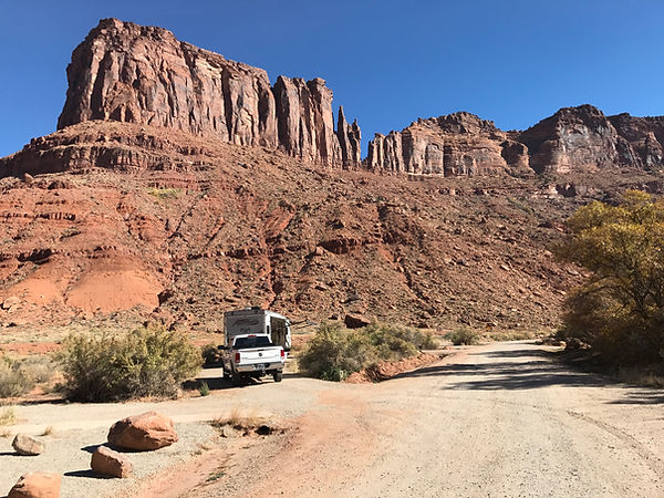 Big Bend Campground, Moab