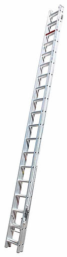 Heavy duty extension ladder