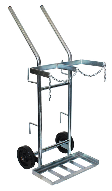 AF12 Double Gas Bottle Trolley