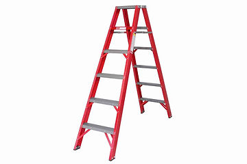 Fibreglass ladder