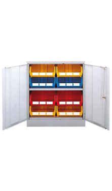 Store Bins in cupboard