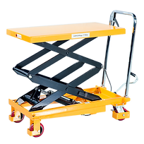 Lift table on whees