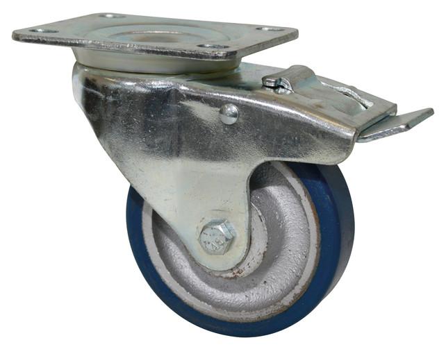 polyurethane braked