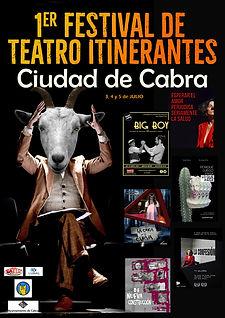 CARTELES FESTIVAL TEATRO ITINERANTES Ciu