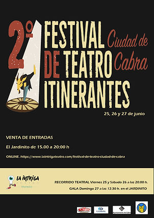 CARTEL II Festival de Teatro ITINERANTES
