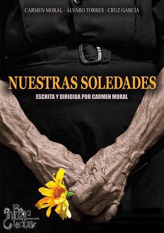 Cartel NUESTRAS SOLEDADES de Carmen Mora