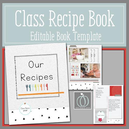 Class Recipe Book