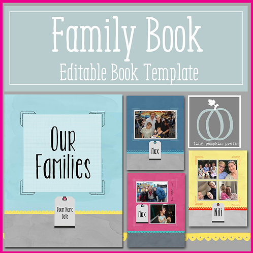 Family Book Template